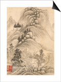 Album de huit feuilles : paysages Prints by Wutian Wang