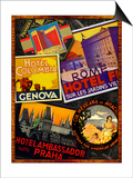 Rome Posters by Kate Ward Thacker
