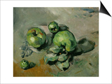 Green Apples, Around 1873 Poster by Paul Cézanne