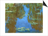 Nympheas (Waterlilies), 1903 Prints by Claude Monet