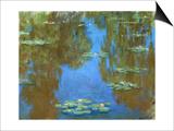 Nympheas (Waterlilies), 1903 Prints by Claude Monet