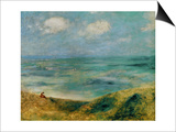 Seashore at Guernsey, 1883 Prints by Pierre-Auguste Renoir