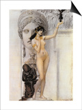 Allegory of Sculpture Posters by Gustav Klimt