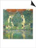 Schloss Kammer Am Attersee III (Wasserschloss), 1910 Prints by Gustav Klimt