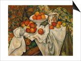 Apples and Oranges Art by Paul Cézanne