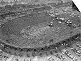 Fans Jam Philadelphia's Jfk Stadium During the Live Aid Concert Posters