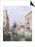 Rio San Bernardo, Venice Posters by Franz Richard Unterberger