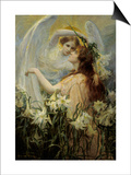 The Angel's Message Prints by George Hillyard Swinstead