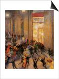 Riot in the Galleria Prints by Umberto Boccioni