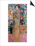 Dame Mit Faecher (Maria Munk) Lady with Fan, 1917/18 Art by Gustav Klimt