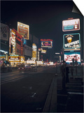 Time Square, New York, c.1946 Prints