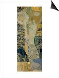 Water Serpents I, c.1907 Art by Gustav Klimt