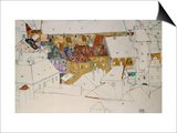 The Yellow Town, 1914 Posters by Egon Schiele
