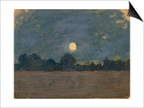 Nocturne Print by Odilon Redon