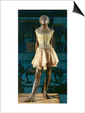 Little Dancer Aged Fourteen, 1880-1881, Bronze with Muslin Skirt and Satin Hair Ribbon Prints by Edgar Degas