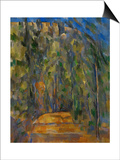 Bend in the Forest Road, 1902-1906 Prints by Paul Cézanne