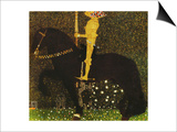 Life is a Struggle or the Golden Knight Posters by Gustav Klimt