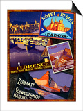 Florence Posters by Kate Ward Thacker