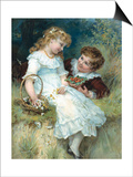 Sweethearts Prints by Frederick Morgan