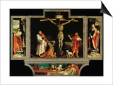 The Isenheim Altar, Closed, circa 1515 Prints by Matthias Grünewald