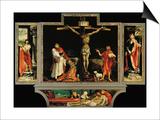 The Isenheim Altar, Closed, circa 1515 Prints by Matthias Grünewald