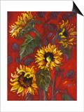 Sunflowers I Art by Shari White