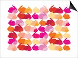Warm Rabbit Pattern Print by  Avalisa