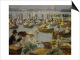 On the Shores of the Alster, Hamburg, 1910 Posters by Max Liebermann