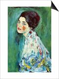 Retrato de una dama Pósters por Gustav Klimt