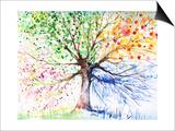 Gekrulde boom Schilderij van  DannyWilde