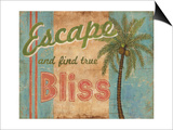Tropical Escape Prints by Ted Zorns