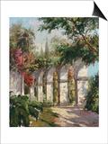 Mission Gardens Poster by Alberto Pasini