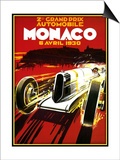 Monaco Posters by Kate Ward Thacker