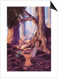 The Enchanted Prince Print by Maxfield Parrish