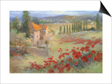 Fattoria d'Umbria Prints by Ruth Baderian