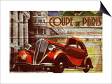 Coupe de Paris Prints by Kate Ward Thacker