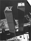 World Trade Center 1973 Prints by David Pickoff