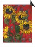 Sunflowers II Posters by Shari White