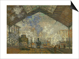 La Gare Saint Lazare, 1877 Prints by Claude Monet