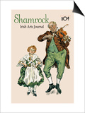 Shamrock Irish Arts Journal Posters