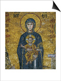 Madonna and Child, from the Votive Mosaic in the South Gallery, Byzantine, 12th Century Prints