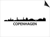 Skyline Kopenhagen Posters by  unkreatives