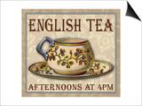 English Tea Prints by Kate Ward Thacker