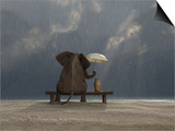Mike_Kiev - Elephant And Dog Sit Under The Rain - Tablo