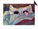 Sleeping Art by Henri de Toulouse-Lautrec