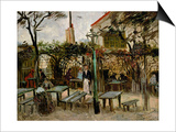 La Guinguette in Montmartre, c.1886 Prints by Vincent van Gogh