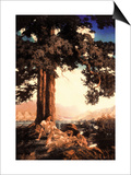 Hilltop Prints by Maxfield Parrish