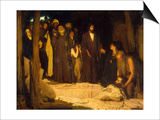 La résurrection de Lazare Poster by Henry Ossawa Tanner