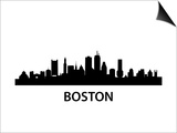 Skyline Boston Posters by  unkreatives