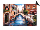 Streets of Venice III Prints by James Lee